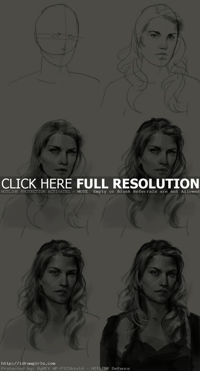how to draw niki sanders heroes How to draw Niki Sanders