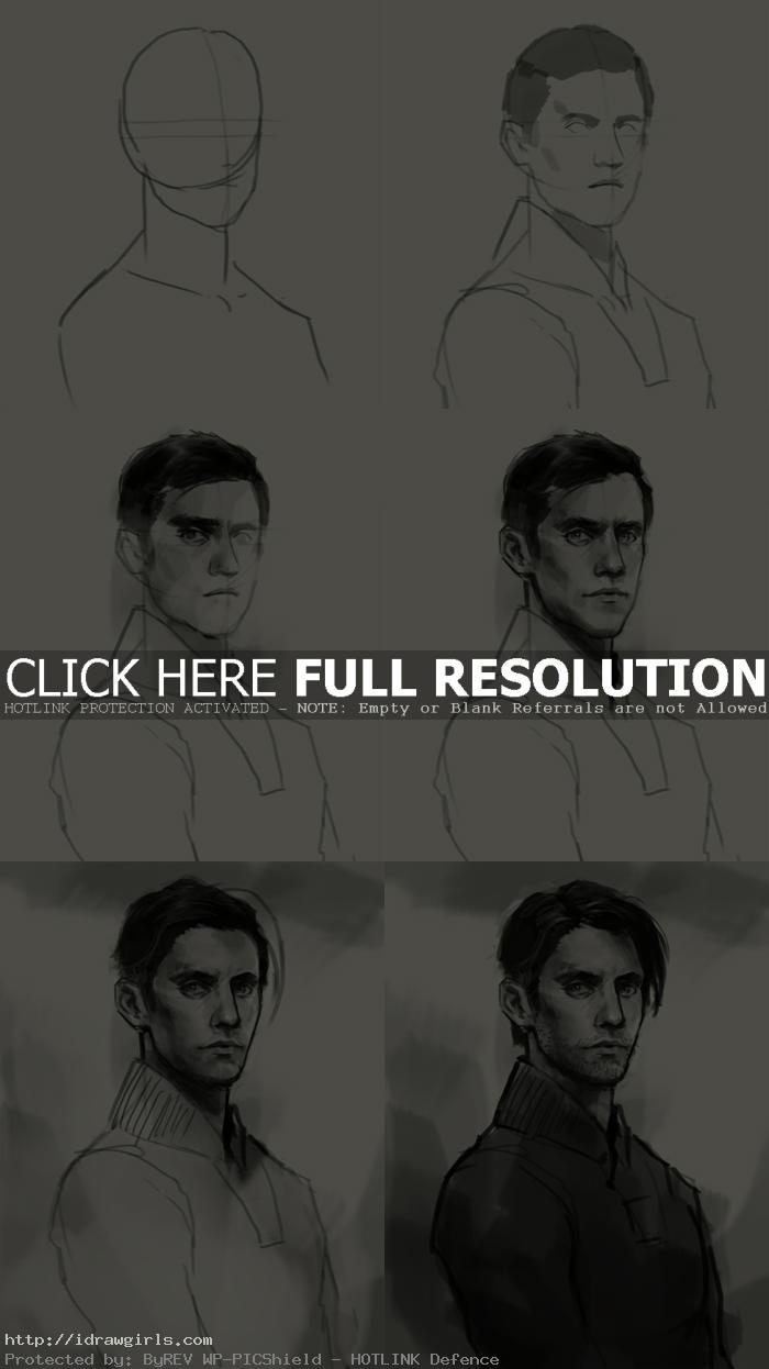 How to draw Peter Petrelli Heroes