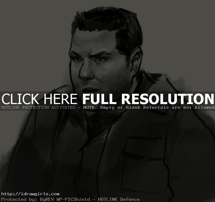 matt parkman heroes drawing How to draw Matt Parkman
