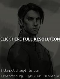 Peter Petrelli Heroes drawing