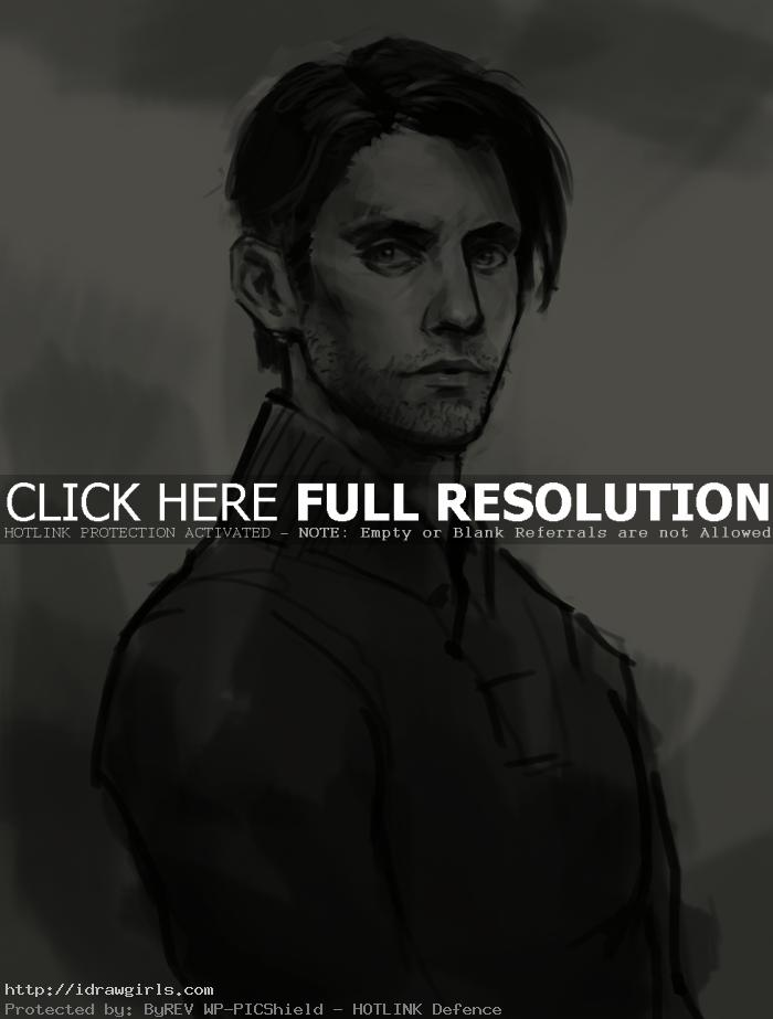 How to draw Peter Petrelli