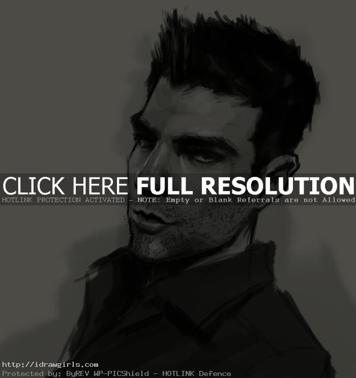 Sylar Heroes drawing