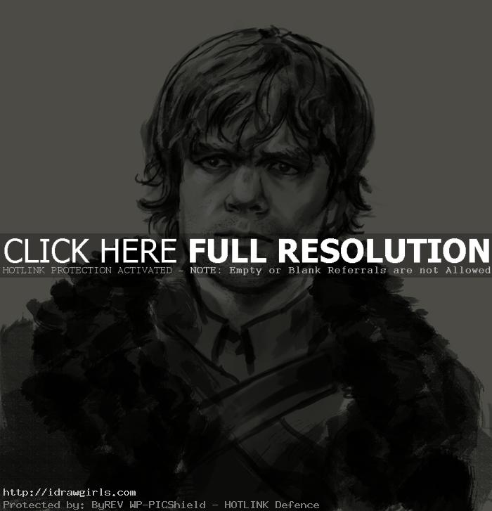 How to draw Tyrion Lannister