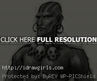 Dhalsim Street Fighter drawing