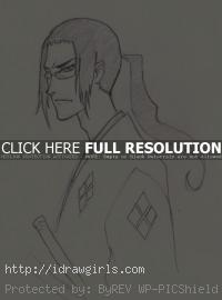 draw Jin Samurai Champloo