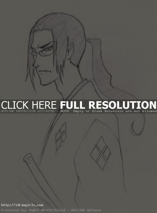 draw jin samurai champloo How to draw Jin Samurai Champloo