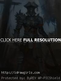 Guild Wars 2 character concept art pirate