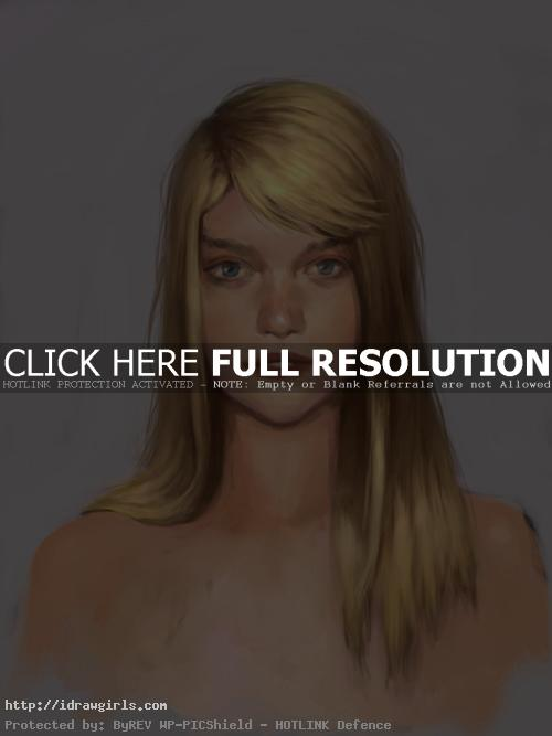 hair painting tutorial Digital painting tutorial, painting hair