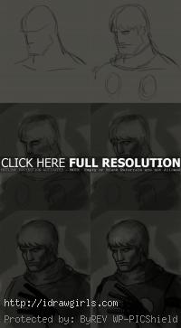 how to draw manga cyborg004 Albert