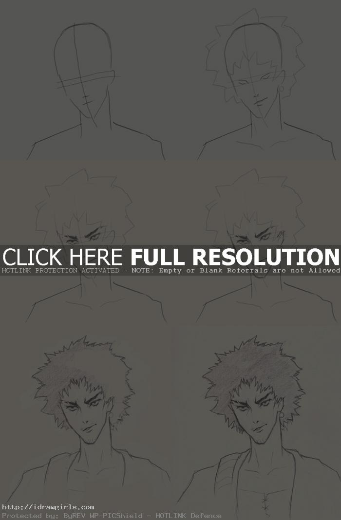 how to draw samurai champloo mugen How to draw Mugen Samurai Champloo