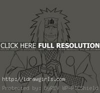 drawing Jiraiya