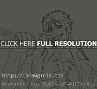Grimmjow drawing