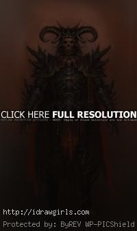 Guild Wars 2 concept art evil warrior