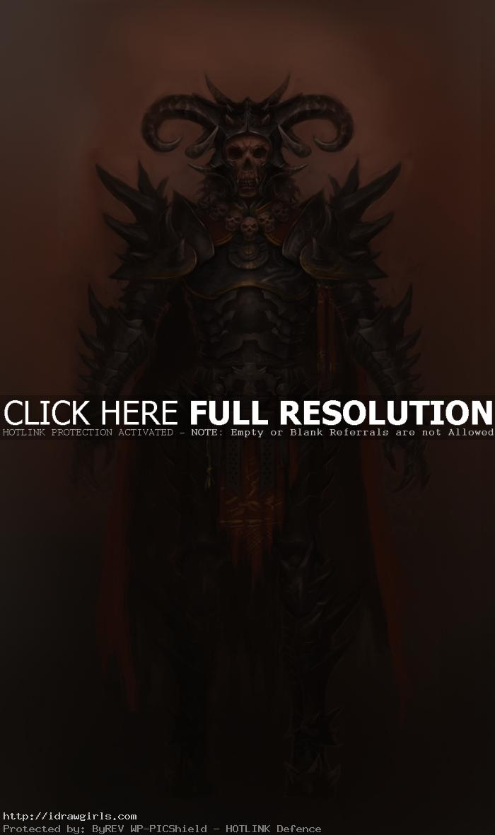 guild wars 2 concept art evil warrior Guild Wars 2 concept art evil warrior