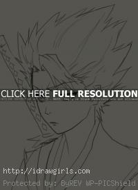 Hitsugaya Toushiro drawing