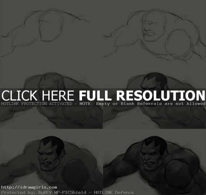 how to draw balrog How to draw Balrog
