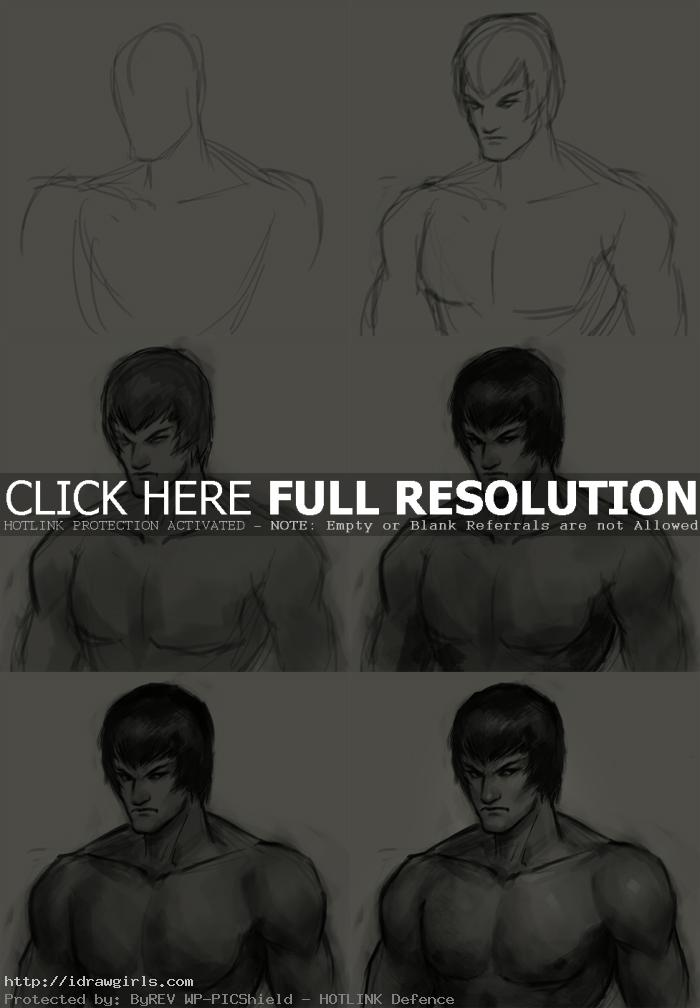 How to draw Fei Long
