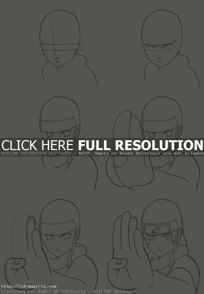 how to draw hyuuga neji How to draw Hyuuga Neji