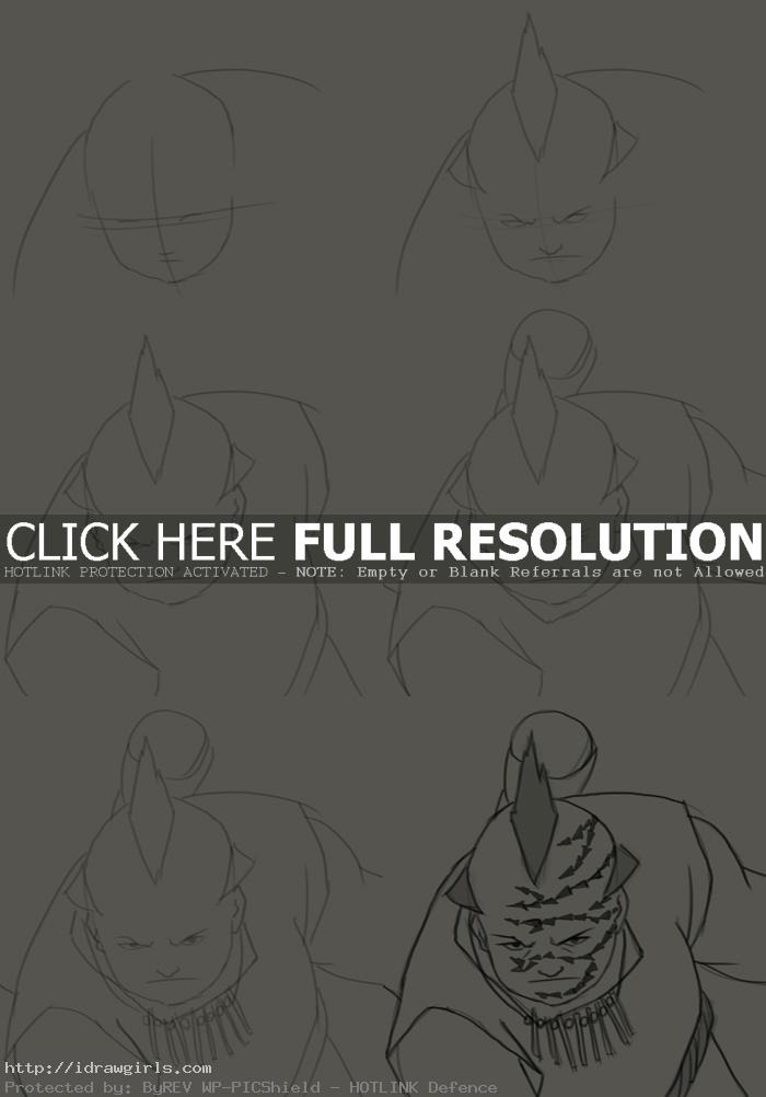 How to draw Jiroubou