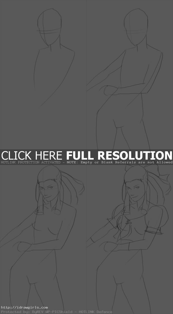 how to draw karin street fighter How to draw Karin