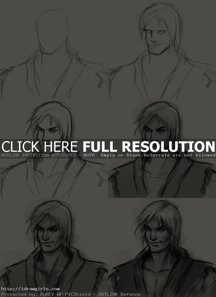 how to draw ken How to draw Ken