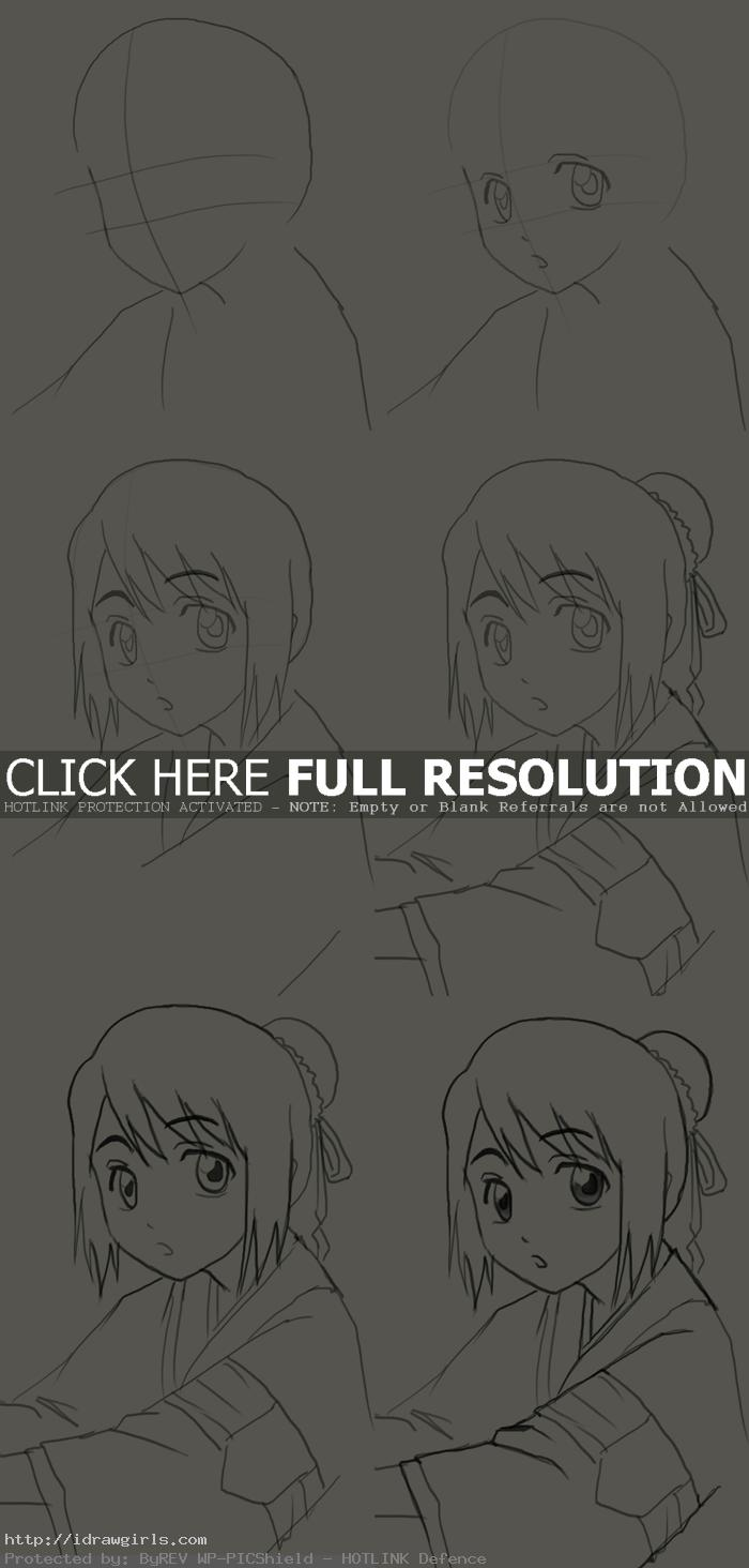 how to draw momo hinamori How to draw Momo Hinamori