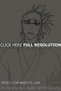 Renji Abarai drawing
