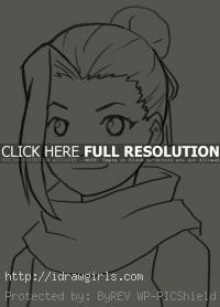 drawing Yamanaka Ino