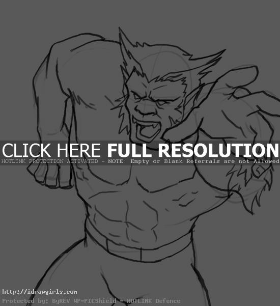 How to draw Beast