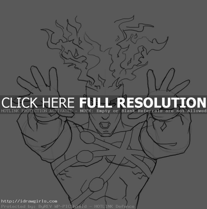 firestorm How to draw Firestorm