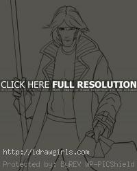 Gambit drawing