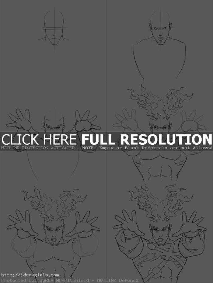 how to draw firestorm How to draw Firestorm