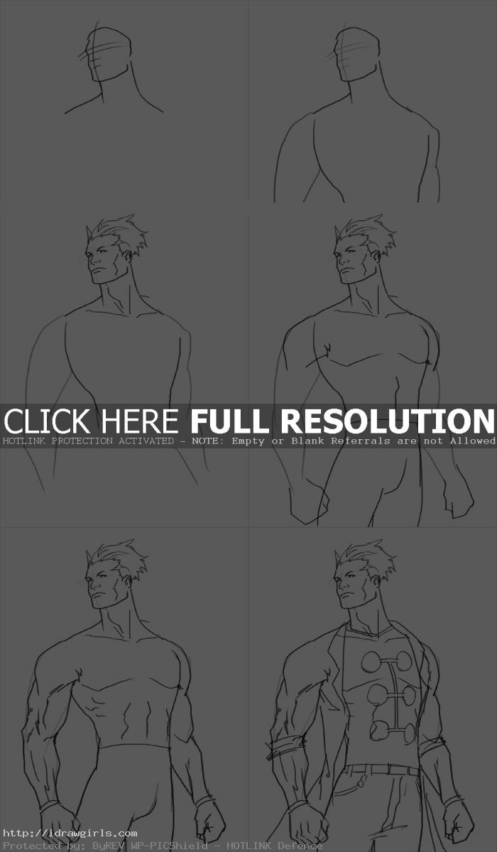 How to draw Madrox