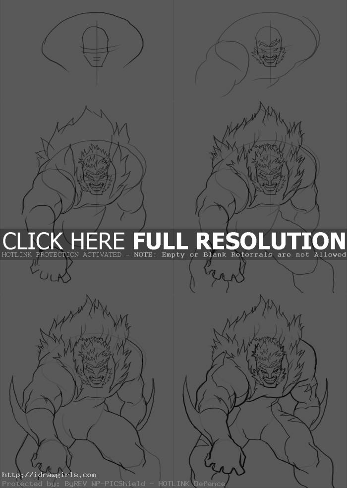 how to draw sabretooth How to draw Sabretooth