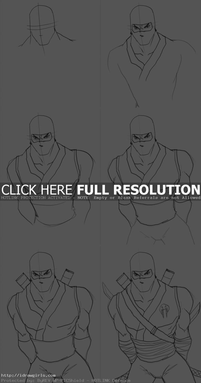 how to draw Storm Shadow