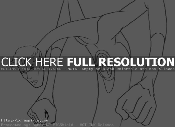 How to draw Mr Fantastic