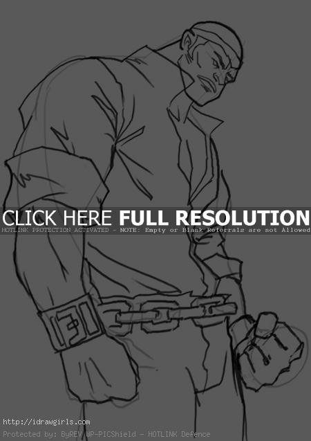 powerman luke cage How to draw Power Man Luke Cage