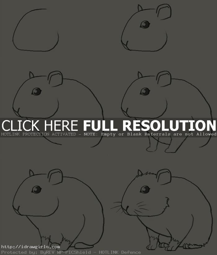 how to draw mouse How to draw mouse