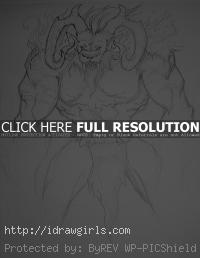 Ifrit concept art sketch FF