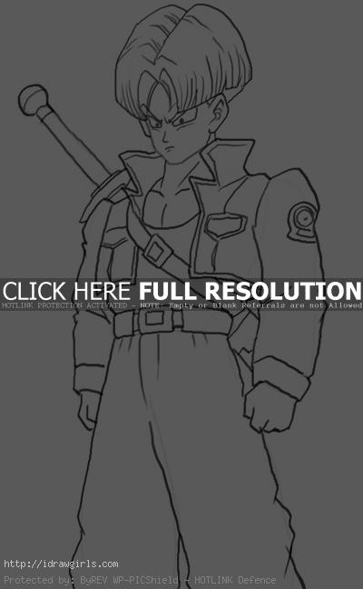 How to draw Trunks