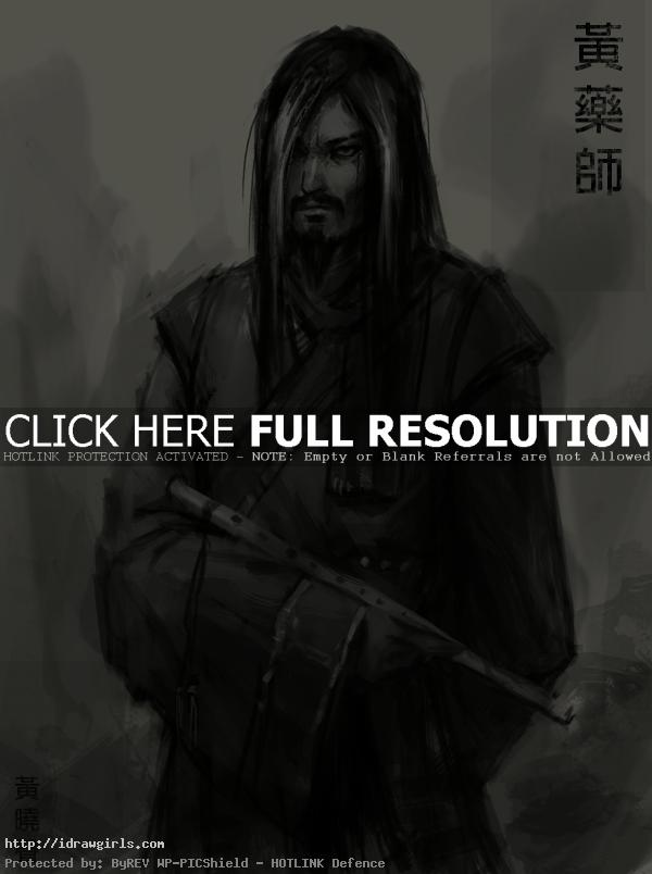 young huang yaoshi  Concept art tutorial drawing Yaoshi