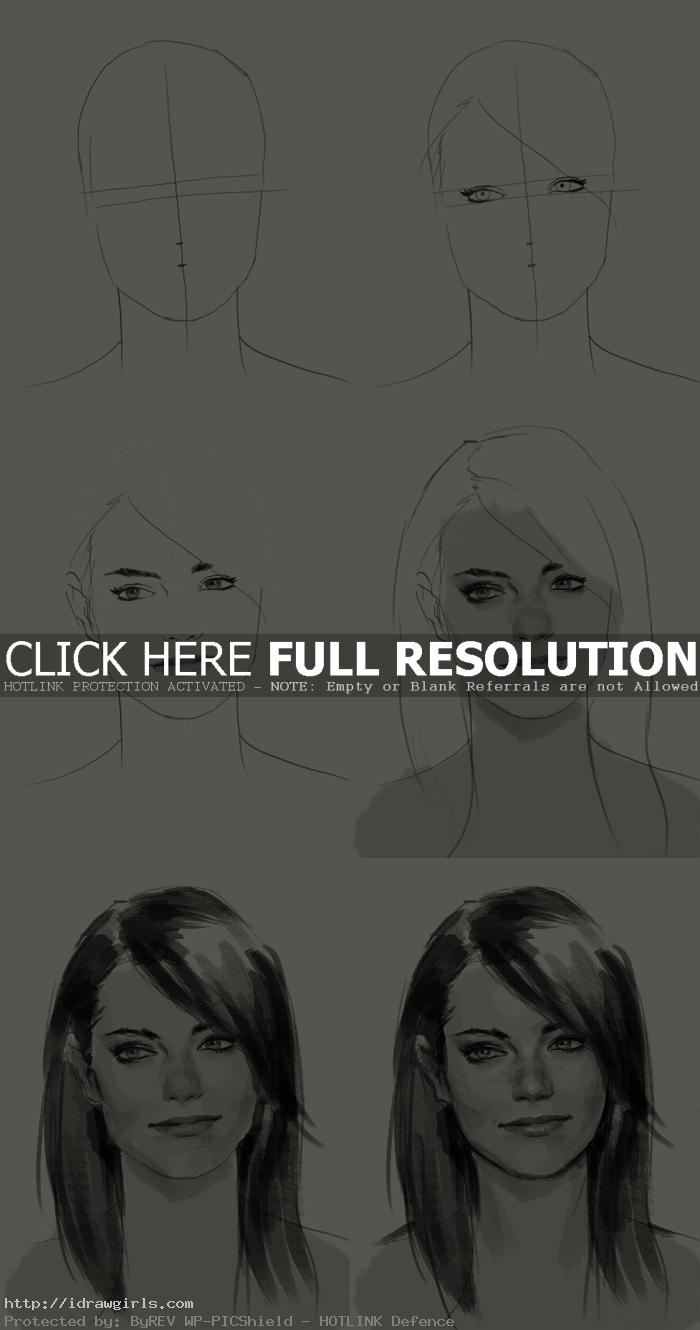 how to draw gwen stacy How to draw Gwen Stacy