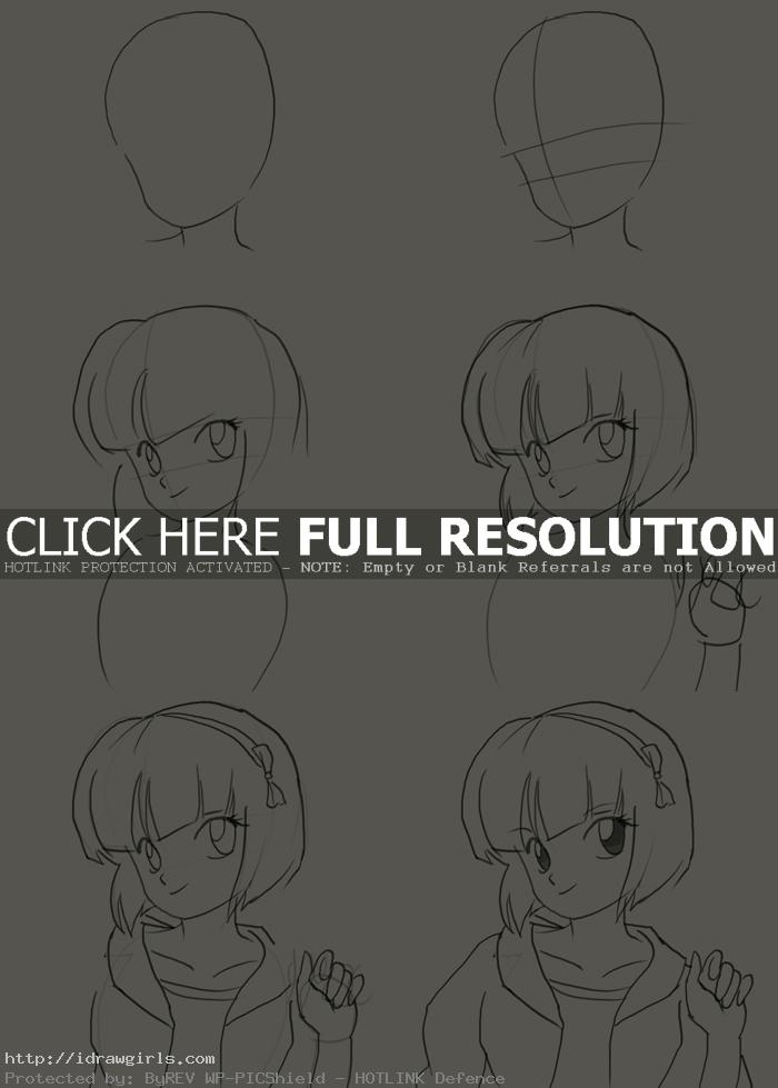 how to draw nabiki tendo How to draw Nabiki Tendo