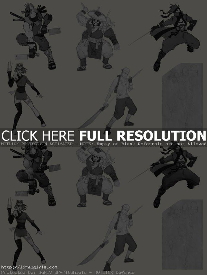 thumbnail creation process concept art Thumbnail design for concept art