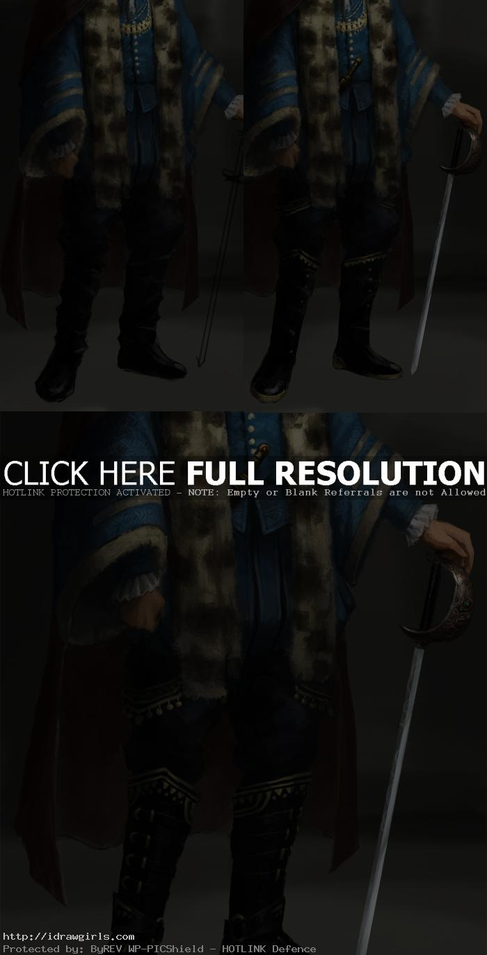 digital painting tutorial noble man 02 Digital painting tutorial noble man