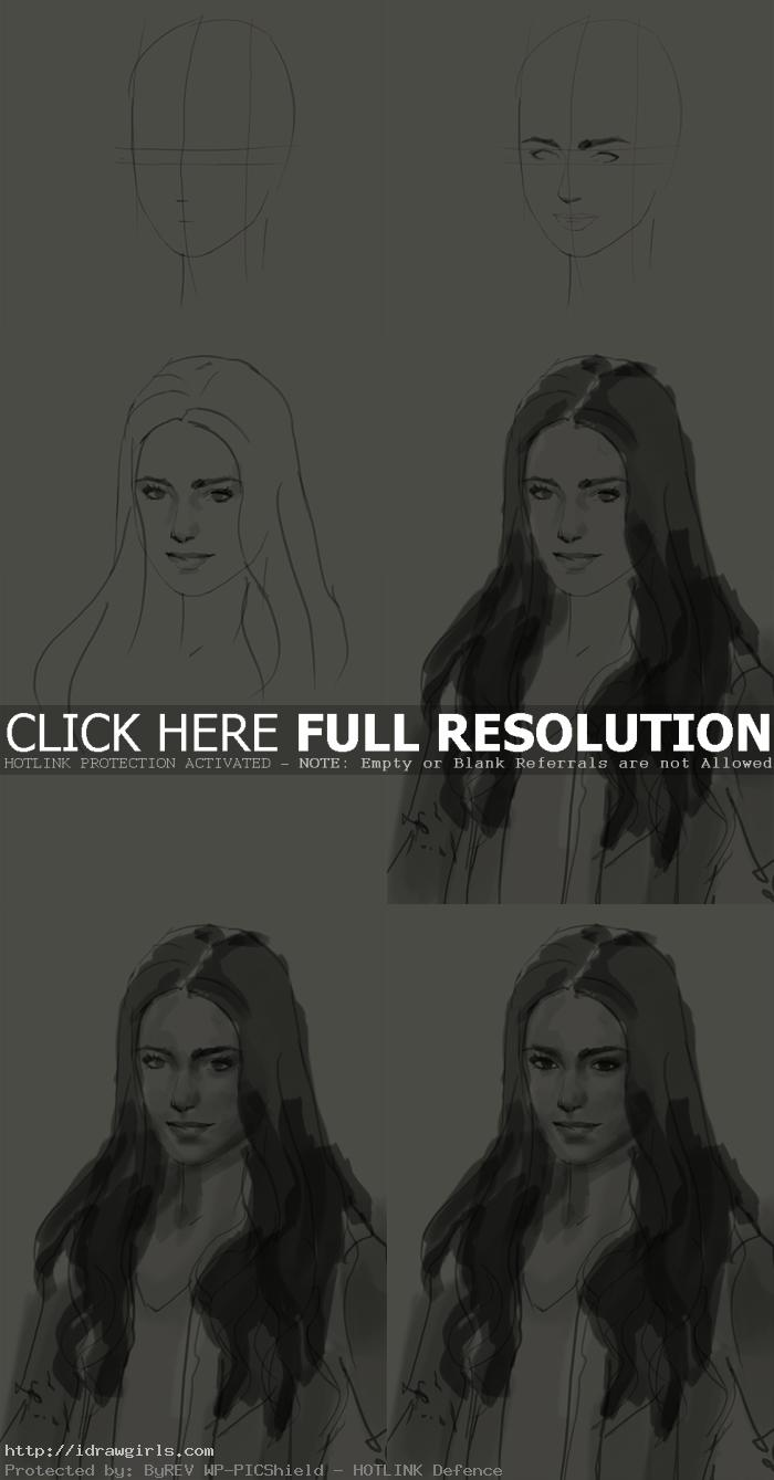 how to draw clary fray How to draw Clary Fray