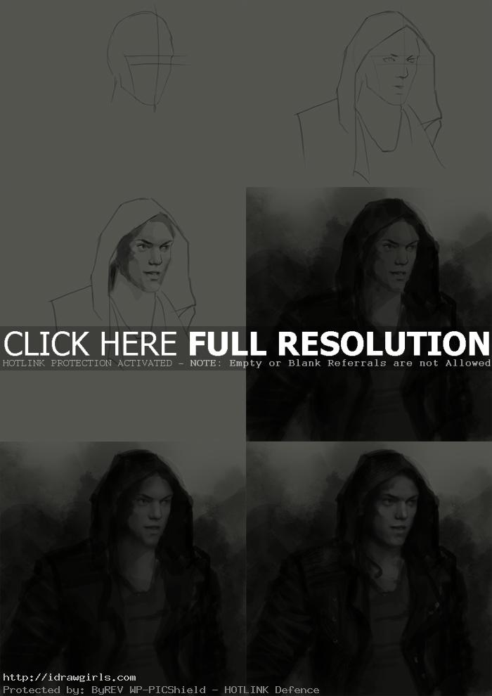 how to draw jace wayland How to draw Jace Wayland