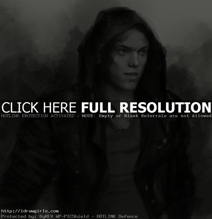 How to draw Jace Wayland
