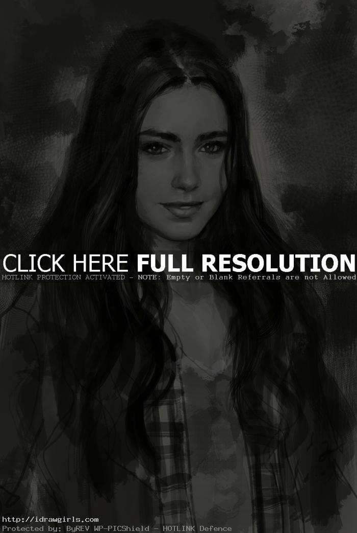 Clary Fray city of bones How to draw Clary Fray