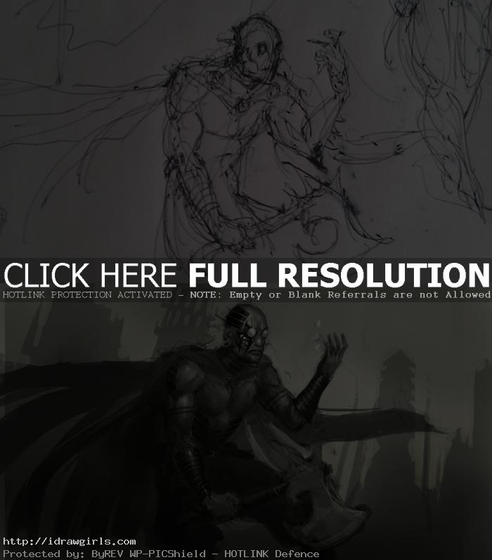 Steel Inquisitor quick concept sketch version 1